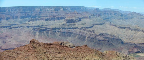 The Great Unconformity of the Grand Canyon (credit: Stan Celestian