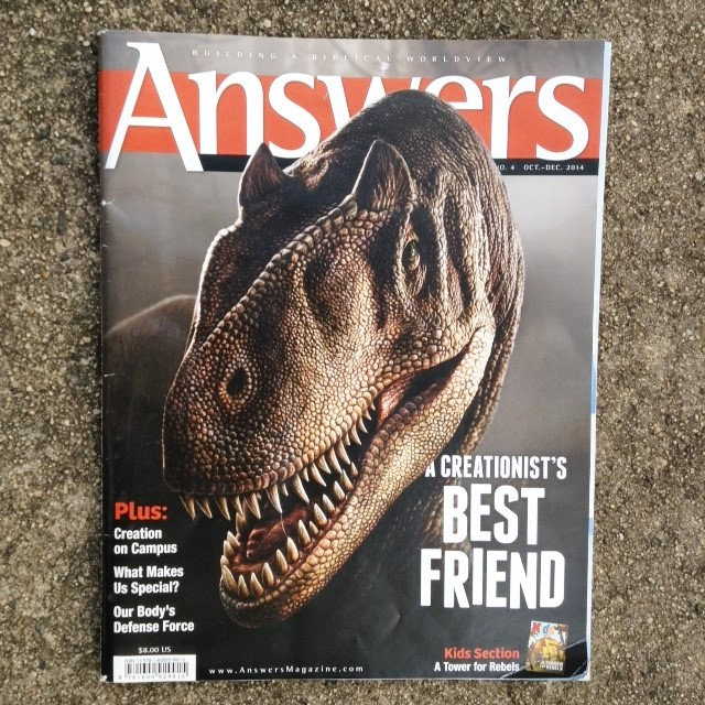 Answers magazine, Oct-Dec 2014 issue