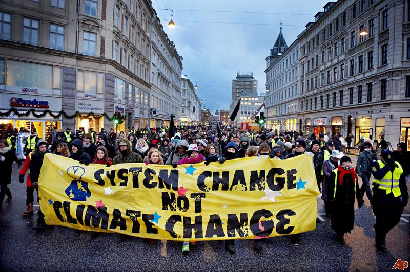 Image result for system change not climate change
